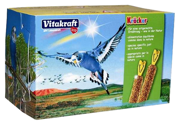Переноска для грызунов Vitakraft разноцветный картон 16x8x8