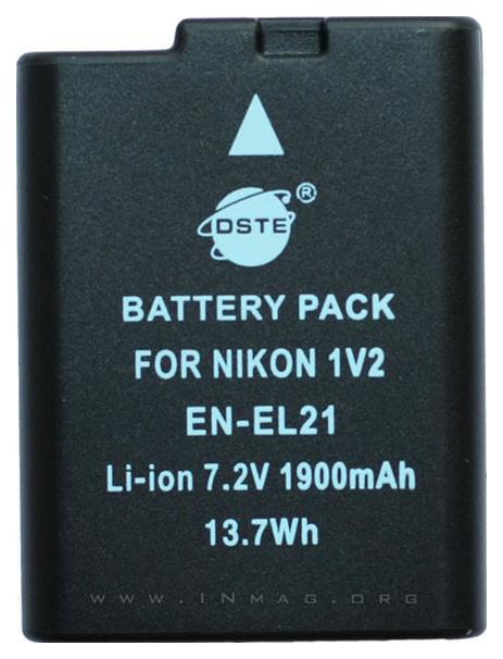 Аккумулятор для цифрового фотоаппарата Nikon EN-EL21