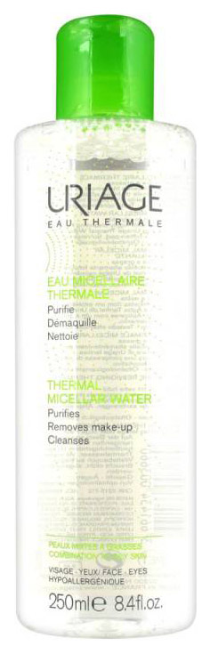 Мицеллярная вода Uriage Eau Micellaire Thermale Peaux