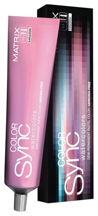 Купить Краска для волос Matrix Color Sync WaterColors Ягодный перламутровый 90 мл