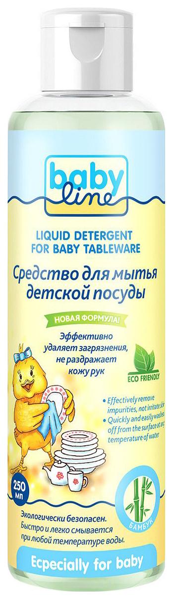 Купить Средство для мытья детской посуды Babyline Безопасный 250 мл,