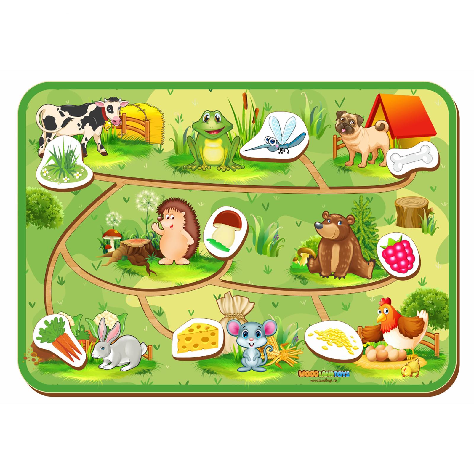 Купить Лабиринт - пара Животные 3, Сибирский сувенир, Деревянные лабиринты