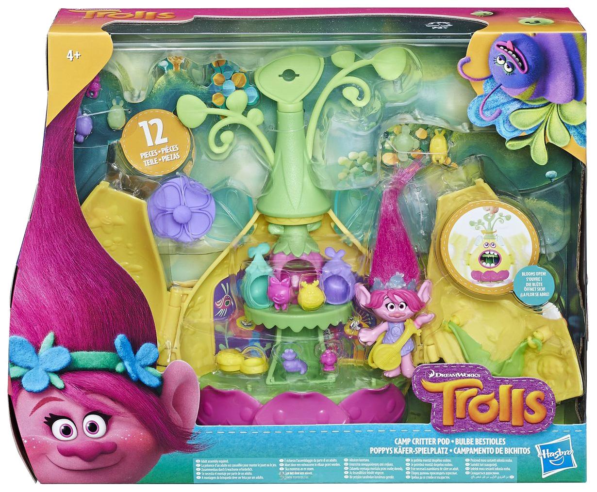 Купить Игровой набор Hasbro Тролли Волшебный домик, Trolls, Игровые фигурки