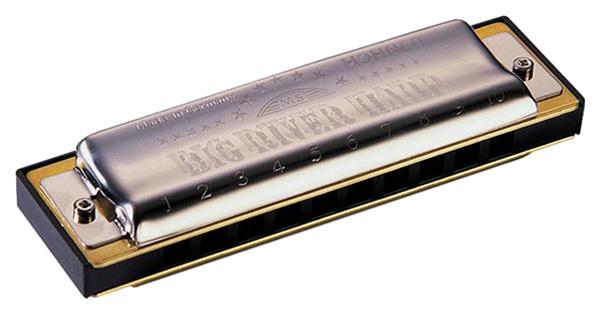 Губная гармоника диатоническая HOHNER Big river harp 590/20 G