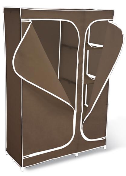 Вешалка-гардероб с чехлом 2016 Sheffilton темно-коричневый