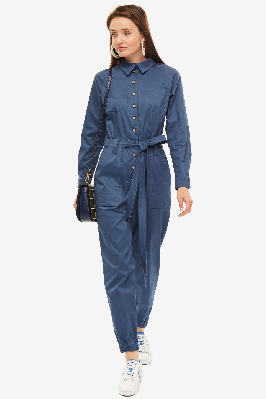 Комбинезон женский OLGA SKAZKINA синий, 190109 blue