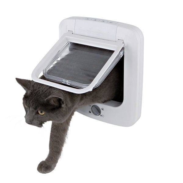 Дверца для кошек TRIXIE Cat Flap, белая,