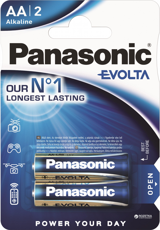 Батарейка Panasonic Evolta LR6EGE/2BP 2 шт