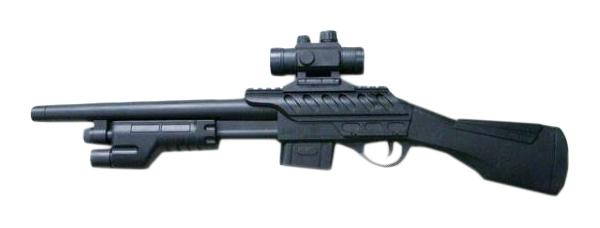 Купить Пневматическое ружье с оптическим прицелом, 55 см, NoBrand, Стрелковое игрушечное оружие