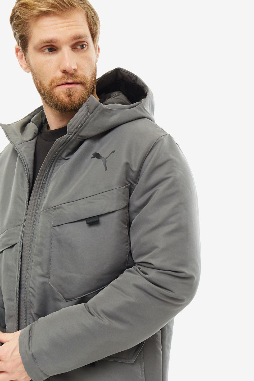 Куртка мужская PUMA 58001137 серая XL