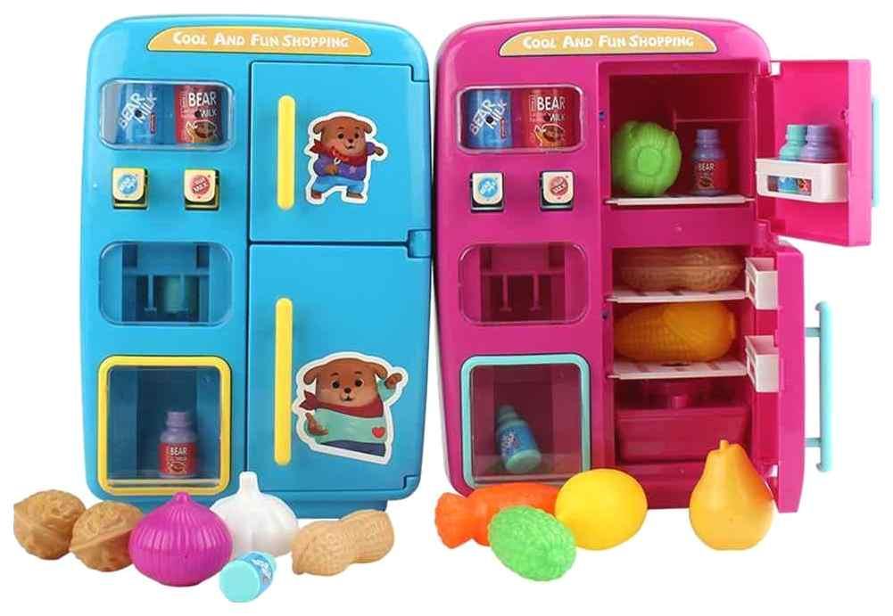 Купить Холодильник игрушечный Sima-Land 4446696 в ассортименте, Детская кухня и аксессуары