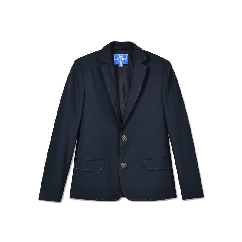 Купить 18с770-66, Пиджак Смена, цв. синий, 164 р-р, Детские пиджаки и жакеты