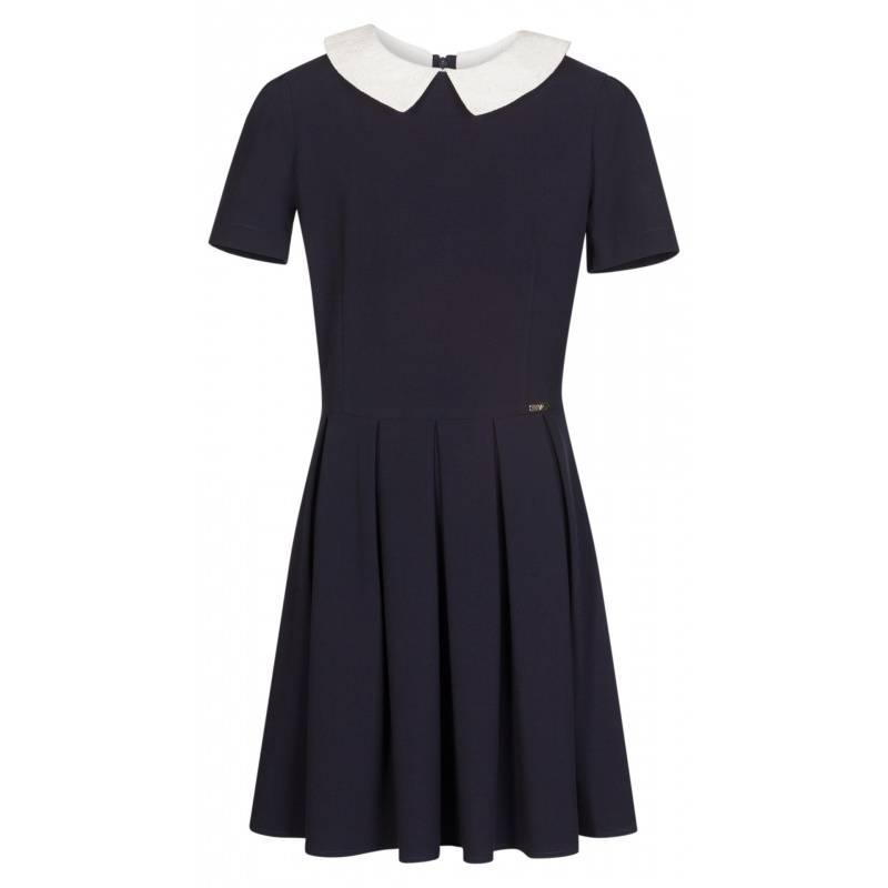 Купить ШФ-1052, Платье SkyLake, цв. темно-синий, 42 р-р, Платья для девочек