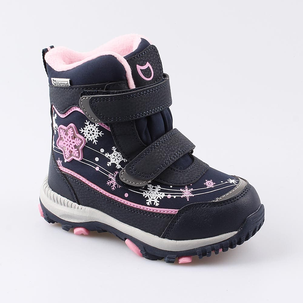 Мембранная обувь для девочек Котофей, 24 р-р