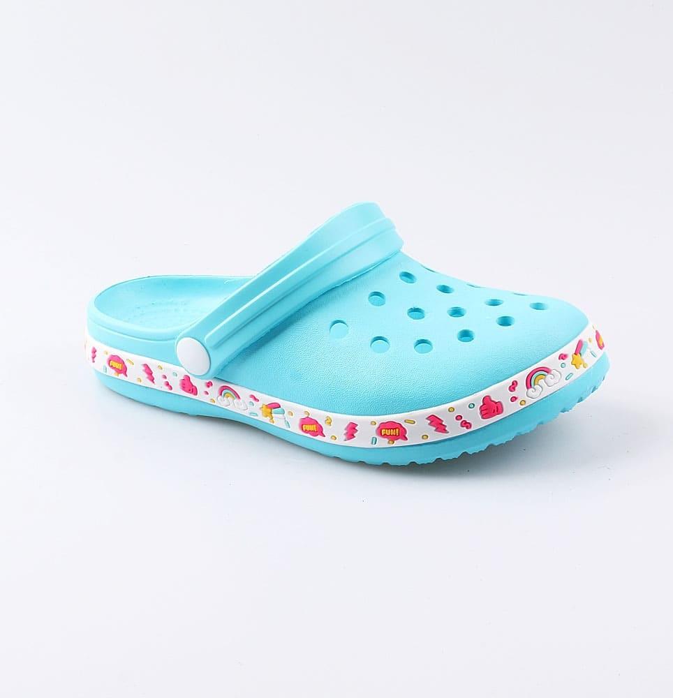 Купить 525059, Пляжная обувь для девочек Котофей, 34-35 р-р, Шлепанцы и сланцы детские