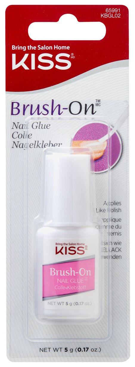 Клей для ногтей Kiss Brush On Nail