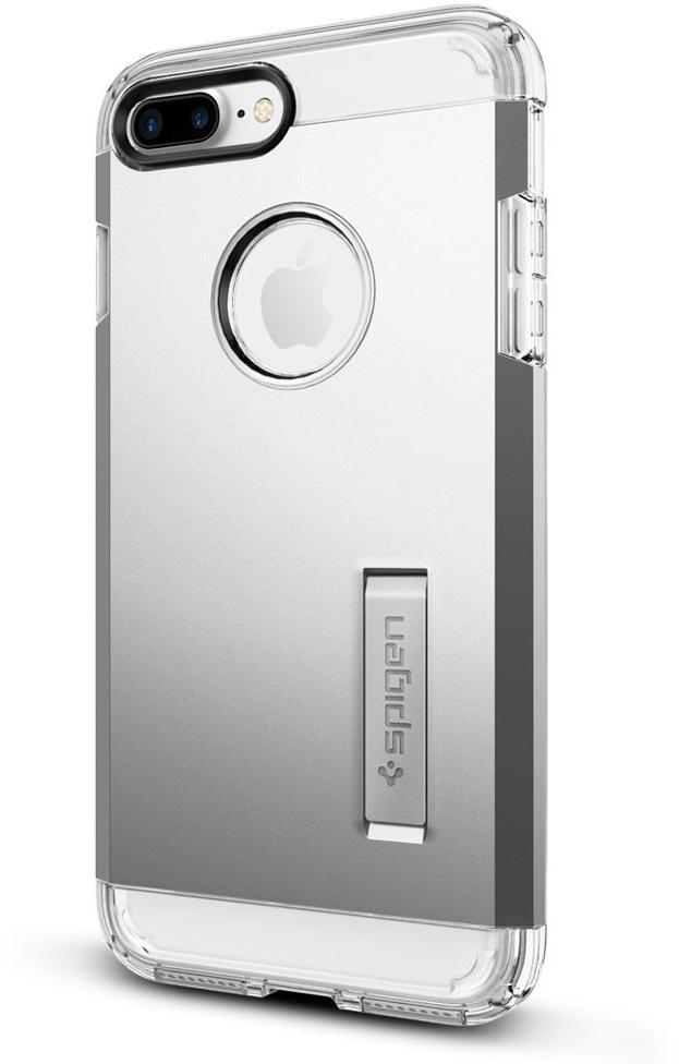 Чехол Spigen Tough Armor для Apple iPhone 7 Plus Satin Silver (043CS20681)