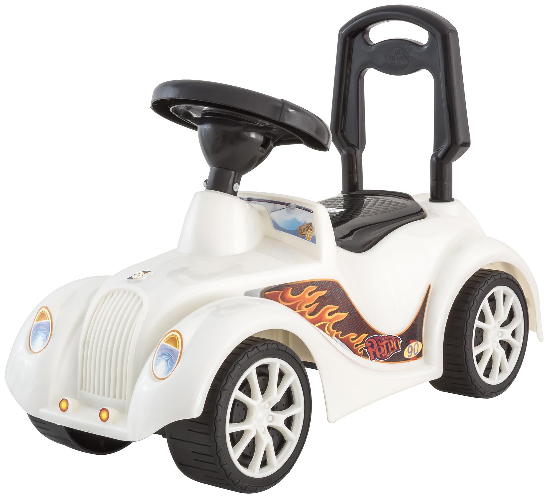 Каталка детская Orion Машинка Ретро Белая
