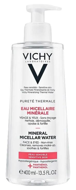 Мицеллярная вода Vichy Purete Thermale Чувствительная кожа