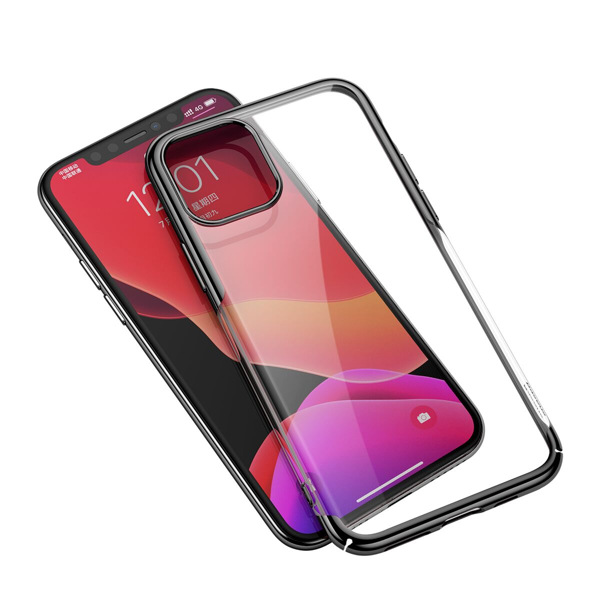 Чехол Baseus Glitter Case для iPhone 11 Pro Max Black