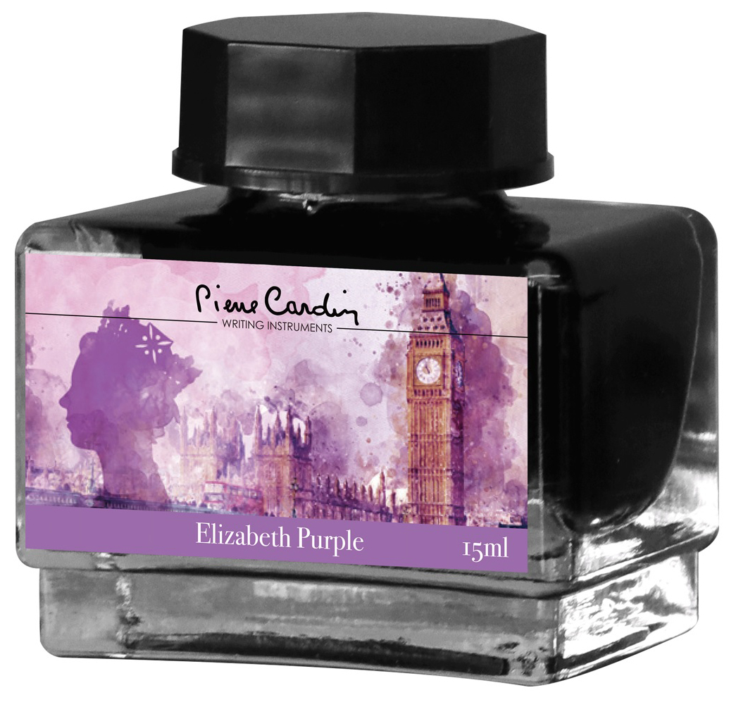 Чернила Pierre Cardin City Fantasy Elizabeth Purple 15 мл