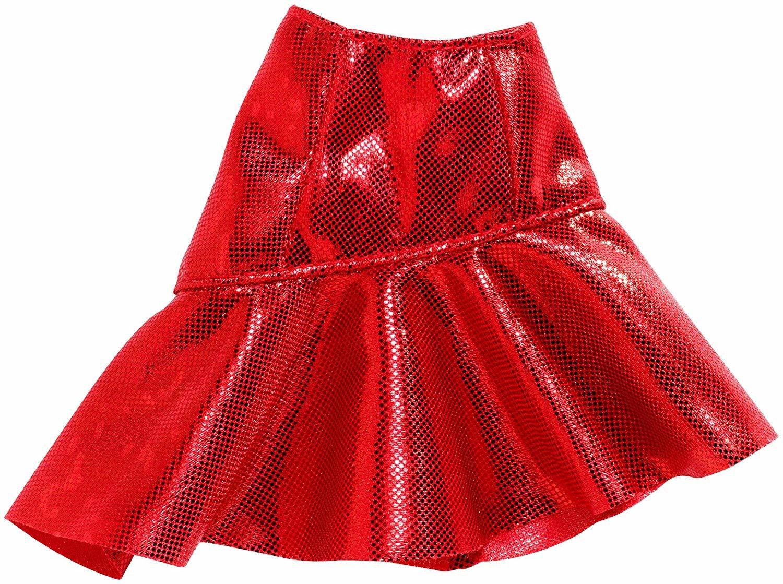 Купить Одежда для кукол Barbie Юбка красная FXH83, Аксессуары для кукол