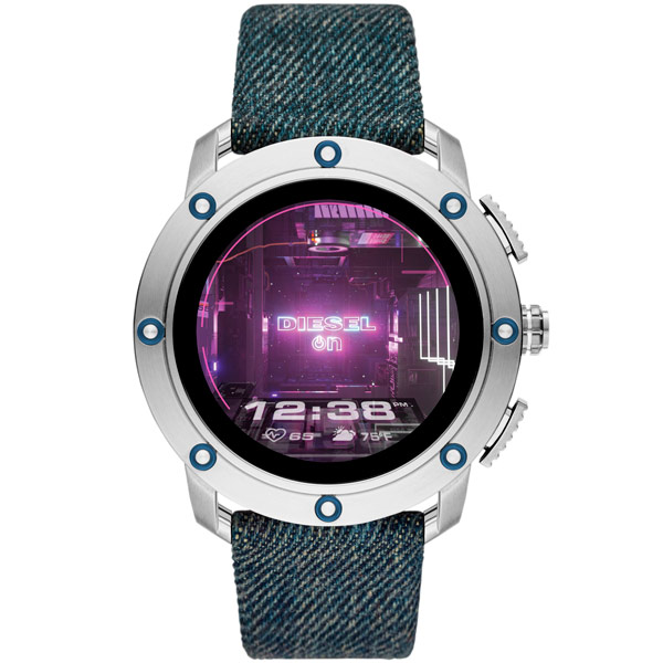 Смарт-часы DIESEL AXIAL DZT2015 Silver/Blue