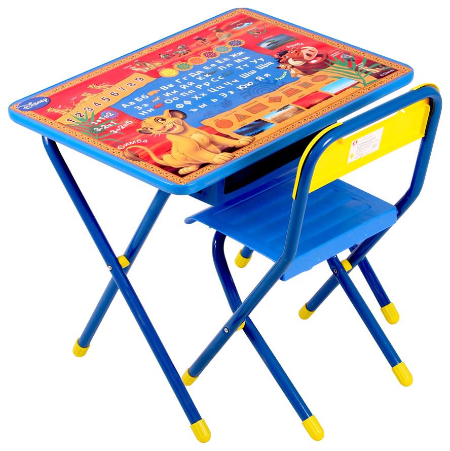 Набор складной детской мебели Дэми №1 Король Лев, синий