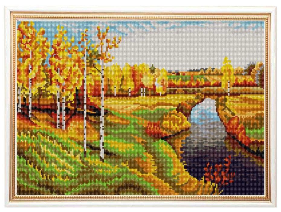 Вышивка бисером Конёк Золотая осень 9959
