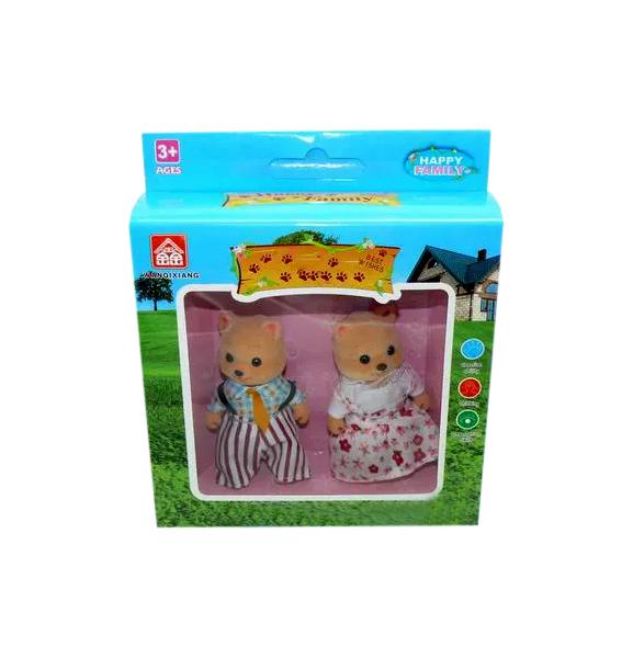 Игровой набор Happy Family Семья бурых медвежат 1037993