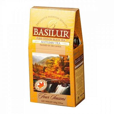 Чай Basilur Времена года - Осенний черный с добавками 100 г фото