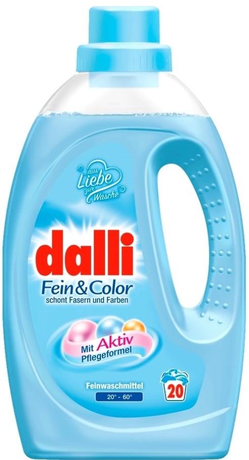 Гель-концентрат Dalli для стирки деликатных тканей фейн колор 1100 мл 20 стирок фото