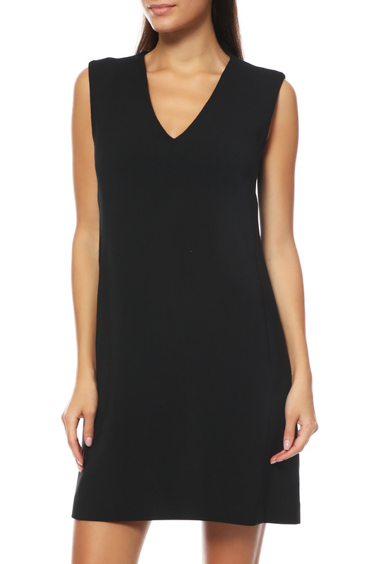 Платье женское BRIAN DALES BW1035 JK3687.003 черное 42 IT фото
