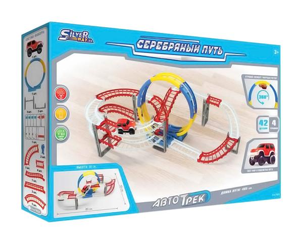 Купить Автотрек Наша Игрушка Серебряный Путь Sw7810 311 См, Наша игрушка, Детские автотреки