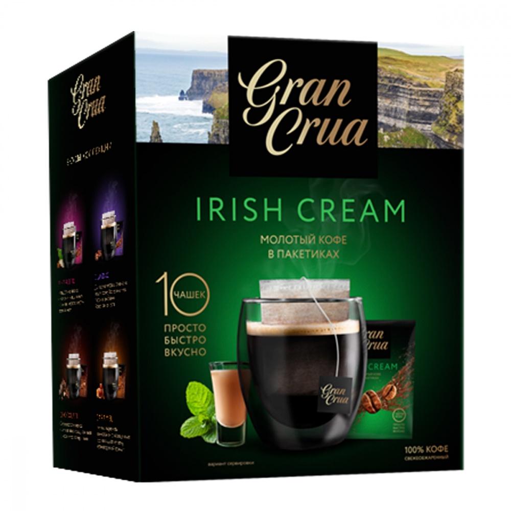 Кофе Gran Crua Irish cream молотый 90 г