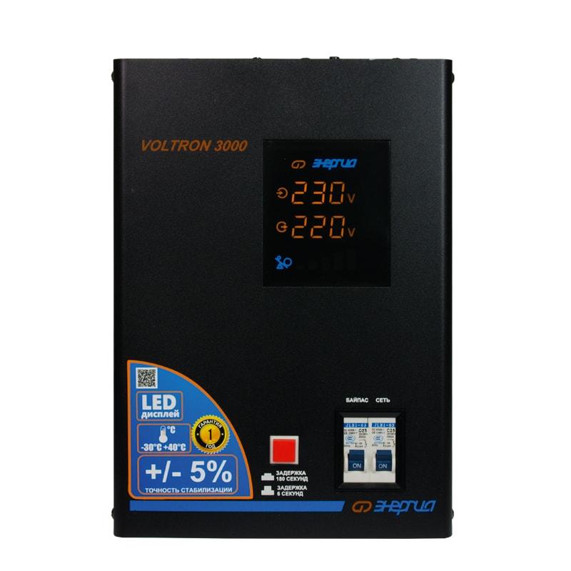 Стабилизатор напряжения Энергия Voltron 3000 (HP) фото