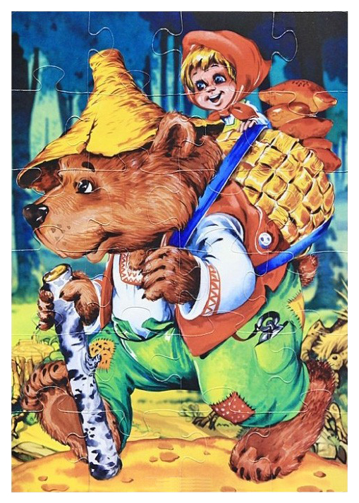 Купить Пазл Десятое Королевство Макси-пазл Маша и медведь 00192ДК, Пазлы
