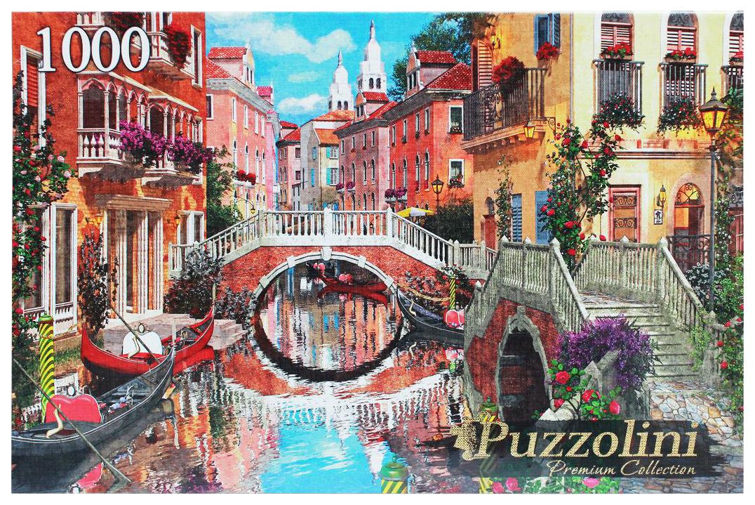 Купить Пазл Рыжий кот Puzzolini Доминик Дэвисон Мост в Венеции MGPZ1000-7736, Пазлы