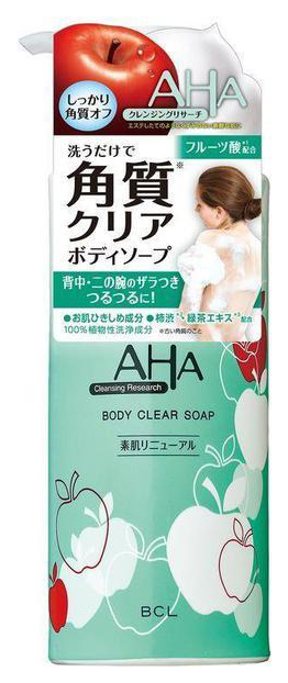 Гель для душа Beauty Creative Lab AHA Cleansing Research Body Clear Soap 400 мл