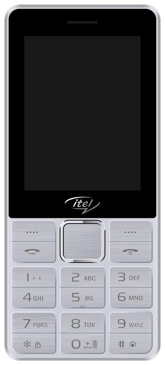 Мобильный телефон Itel IT5630 Silver фото