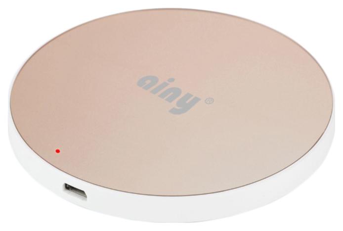 Беспроводное зарядное устройство Ainy EF 022L Gold