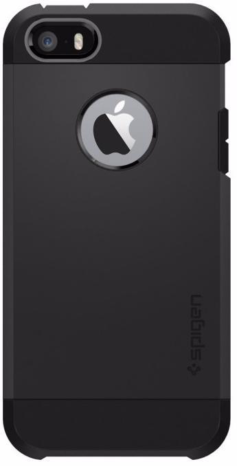 Чехол Spigen Tough Armor (041CS20189) для iPhone 5/5S/SE (Black)