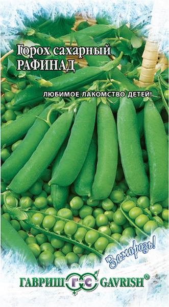 Семена Горох сахарный Рафинад, 10 г, Гавриш