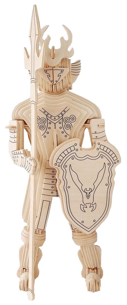 Купить Модель деревянная сборная Wooden Toys Рыцарь 3, Модели для сборки
