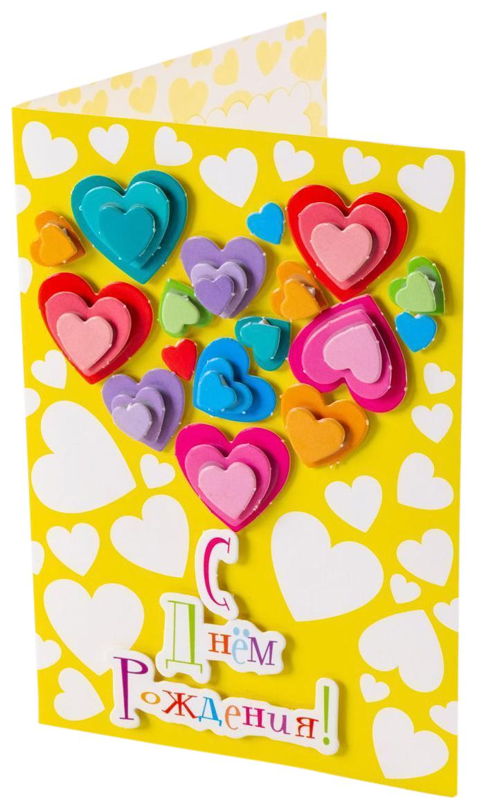 Купить Аппликация Дрофа-Медиа Сердечки, Детские аппликации