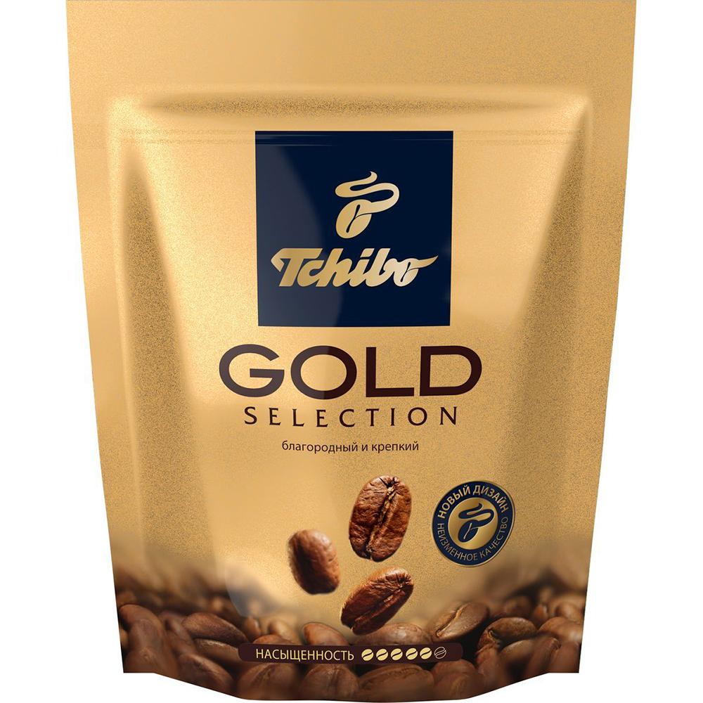 Кофе Tchibo голд селекшн растворимый сублимированный 40 г