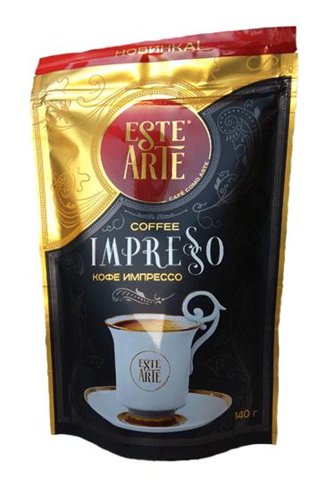 Кофе Este Arte impresso растворимый сублимированный 140 г фото