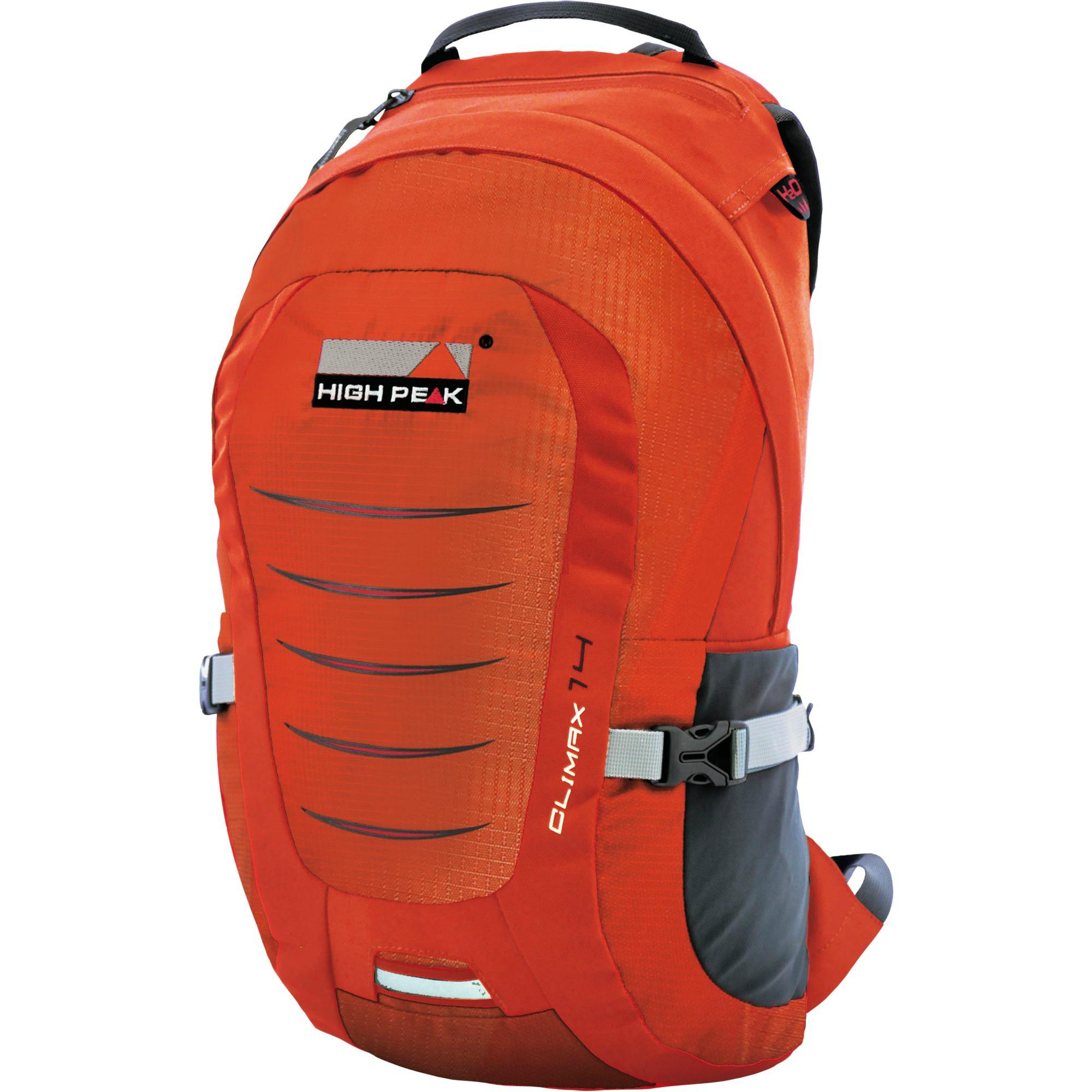 Туристический рюкзак High Peak Climax 18 л оранжевый фото