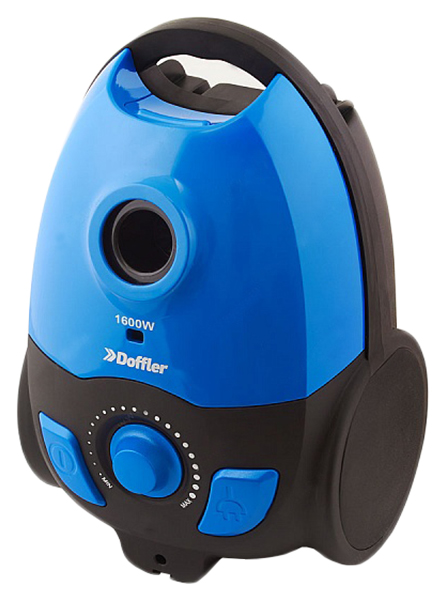 Пылесос Doffler  VCB 1606 Blue/Black