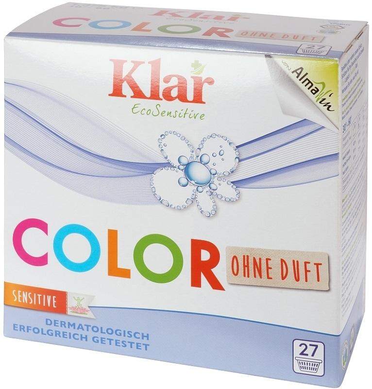 Порошок стиральный Klar концентрированный для цветного белья